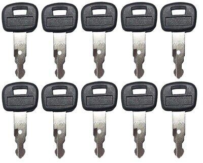10 Key For Kubota Mini Excavator Backhoe Skid Steer Track Loader 459a