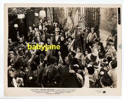 TYRONE POWER ORIGINAL 8X10 PHOTO 1941 BLOOD AND SAND