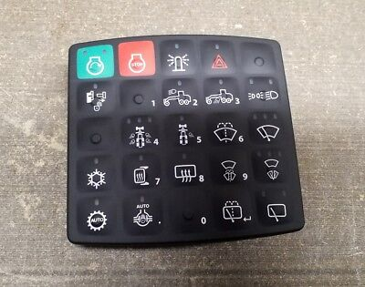 John Deere Oem 25 Button Switch Panel For Motor Grader Part At445227