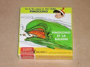 Film super 8 mm couleurs pinocchio et la baleine tres - Baleine pinocchio ...