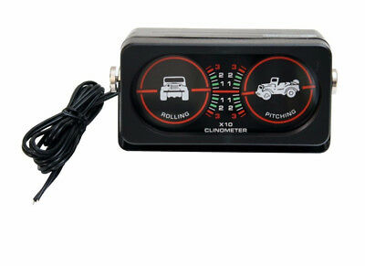 Clinometer with Light for Jeep CJ YJ TJ Wrangler  Offroad 391330902 Outland