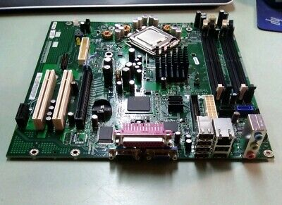 Dell 0HN7XN Mainboard Motherboard Socket 775 No RAM w// Core 2 Duo 2.93GHz
