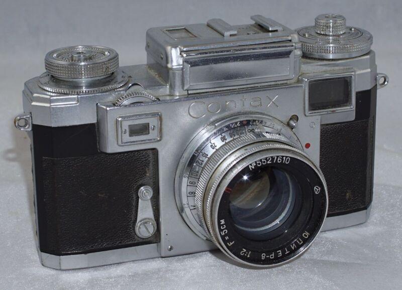 Contax IIIa Rangefinder Camera w/ Lens