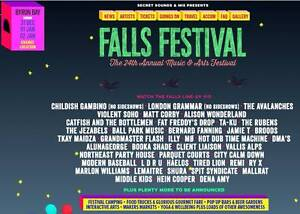 3 x 3 DAY BYRON BAY FALLS FESTIVAL TICKETS & CAMPING PASS Bridgewater Adelaide Hills Preview
