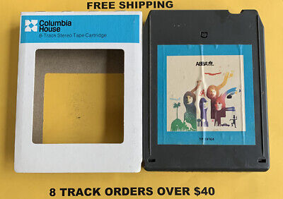 ABBA The Album 8 track tape tested W/ Sleeve