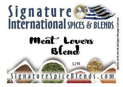 Meat Lovers Spices Pork Chops Lamb Souvlaki Shish K Bob Steaks Grilling Rub