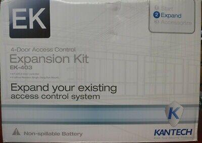 Kantech Ek-403 4-door Controller 4 Ioprox Readers Transformer Kt-400 P325xsf