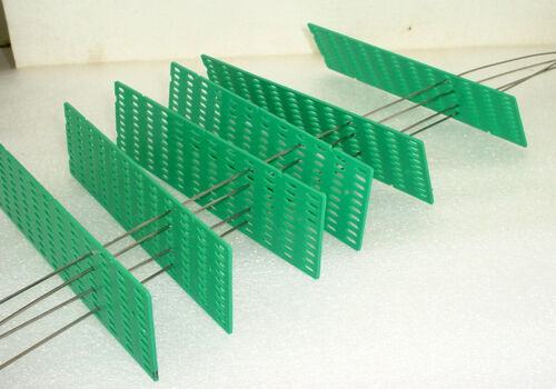 Lot Of 6 Wire Guides Separators Spacer Parallel Bar Holders