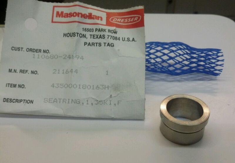 """Masoneilan 435000180163H Seat Ring 1"""" 35KI NEW"""