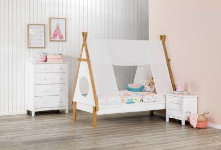 Hopi Single Bed & Mattress New