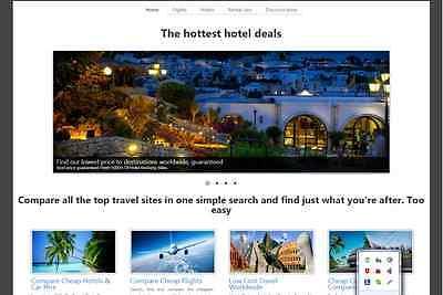 Fantastic Flightshotel Travel Website For Sale Free Installation Hosting