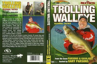 Trolling Walleye Seasonal Tactics Gary Parsons   Keith Kavajecz Dvd New