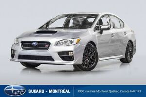 2017 Subaru WRX STI One owner, lease return