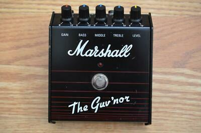 Marshall Guv'nor Distortion Overdrive Vintage Guitar Pedal - Made in England OD