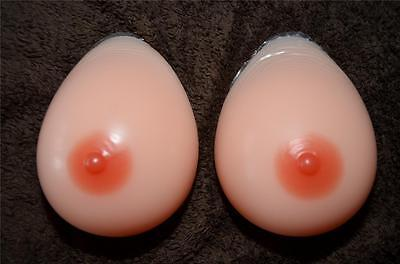 SILICONE BREAST FORMS Mastectomy Size 12 44DD 46D 48C