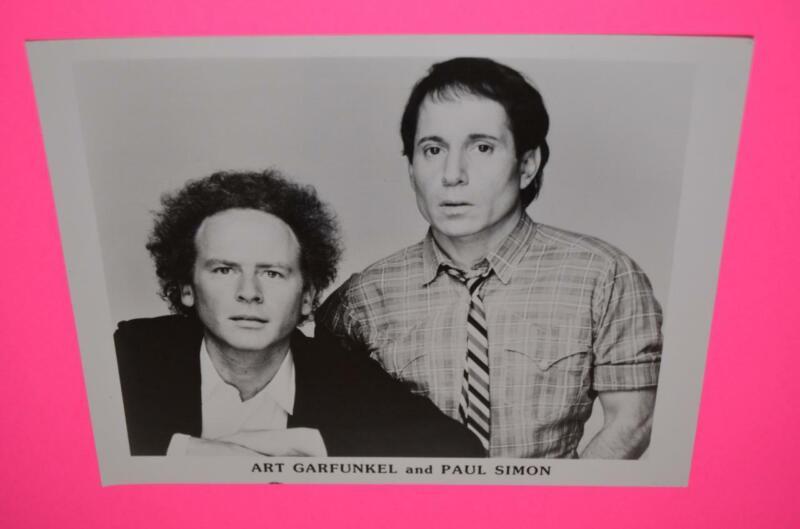 SIMON and GARFUNKEL US Promo 8x10 Glossy Press Publicity Photo 1980
