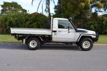 2010 Toyota Landcruiser VDJ79R Workmate Cab Chassis Single Cab 2d Belmont Belmont Area Preview