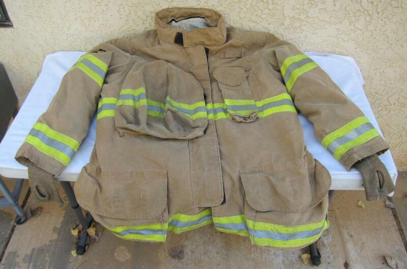 Lion Janesville Firefighter Fireman Turnout Gear Jacket Size 48.36.R - [A] (E8)