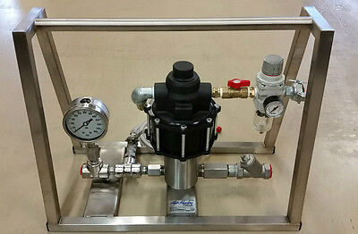 Hydrostatic Test Pump - Portable - Air Operated - High Pressure - 465 Psi