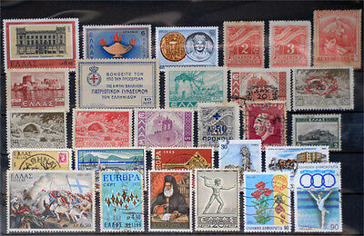 Greece-Lot stamps (ST418)