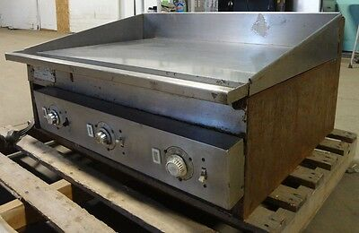 Keating Heavy Duty Commercial Stainless Steel 36 Electric Flat-topgriddle