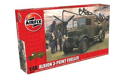 Airfix 03312 Albion AM463 3-Point Refueller 1/48 Scale Plastic Model Kit