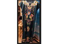 Vintage African Abaya dress