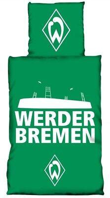 Werder Bremen Bettwäsche Glow in the Dark 135x200 cm Leuchteffekt im Dunkeln ()