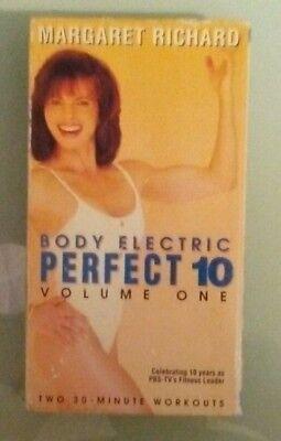 margaret richard  BODY ELECTRIC PERFECT 10 volume one  VHS VIDEOTAPE