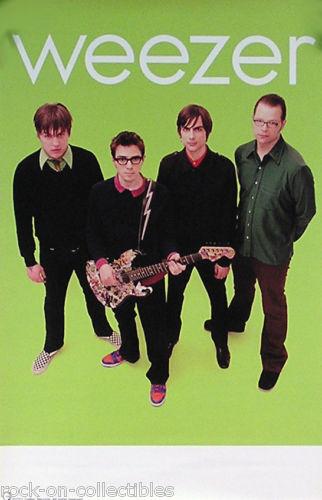 Weezer 2001 Green Album Original Tour Promo Poster