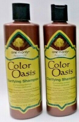 5 X One 'N Only Argan Oil Color Oasis Clarifying Shampoo Removes Build New FreeS ()