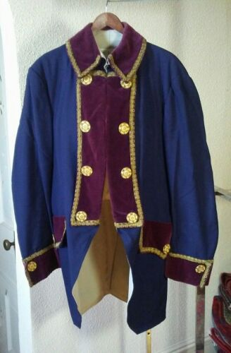 """Semi-Antique, Not Contemporary, Faux Victorian Tailcoat, 36"""" chest, 34"""" sleeve"""
