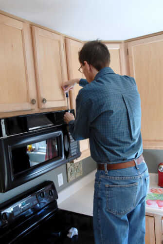 How to Install a Built-In Microwave