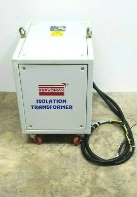 Servomax Isolation Transformer 415460480 In 220230240 Volt Out 3 Phase