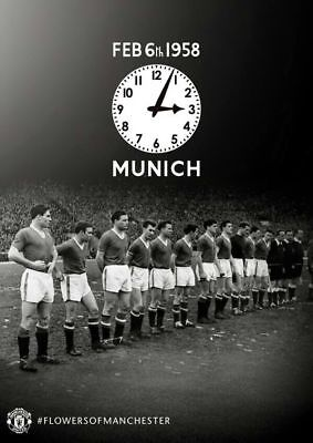 FEB 5th BUSBY BABES MUNICH 1958 COLLECTION 11 ITEMS RED STAR V MANCHESTER UNITED