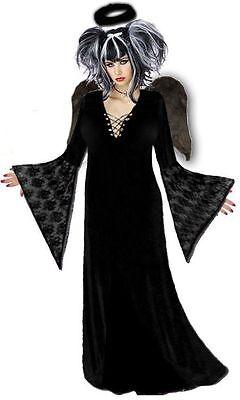 Dark Fairy Halloween (Black Gothic Dark Fairy Plus Size Halloween Costume NEW 1x 2x 3x 4x 5x 6x 7x)