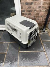 Dog or Car carrier travel crate box bed