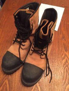 Men's 9.5 Steel Toe Boots