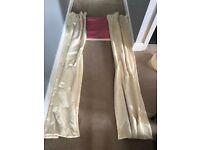 2 Pairs of John Lewis Cream Curtains