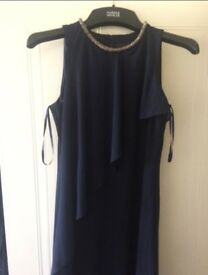 Dark Blue Dress, Size 14 (orignally bought for £50)