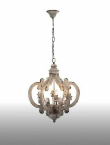 Brand-New Antique Candle-Style Chandelier