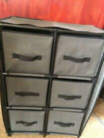 6 Canvas Draw Chest