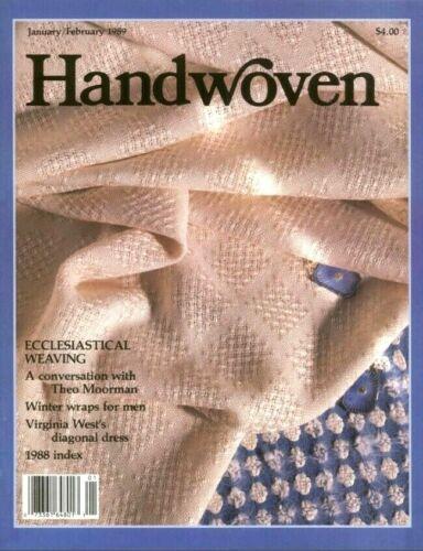 Handwoven magazine January February 1989: ECCLESIASTICAL WEAVING, liturgical