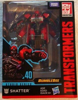 Transformers SHATTER SS 40 Studio Series from the Bumblebee Movie MISB