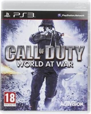 Call of Duty: World at War - PlayStation 3 NEU & OVP...