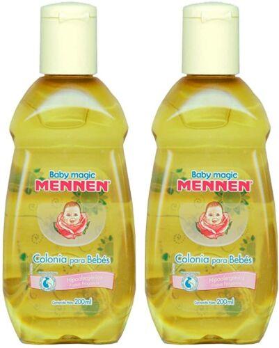 Baby Magic Mennen Cologne  Colonia Mennen Para Bebe, 200 ml cada una