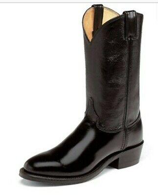 NEW JUSTIN TOBIAS COWBOY BOOTS UK9.5/USA10.5/EU43.5 - STYLE 3040