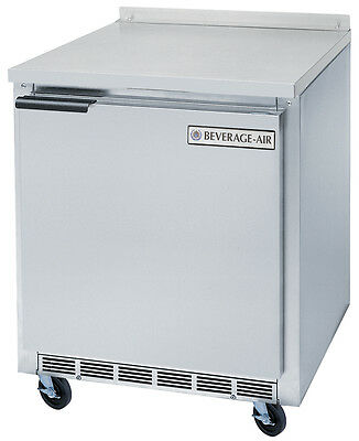 """Beverage-Air WTR27AHC 7.3 CuFt 27"""" Wide One Section Work-Top Refrigerator"""