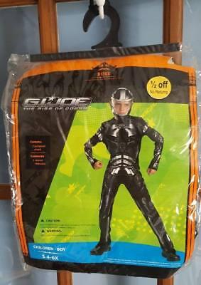 GI Joe Duke Deluxe Boys 4-6X Halloween Costume New - Dukes Halloween