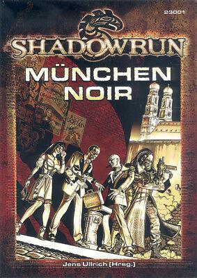 Shadowrun - München Noir Quellenband/Sourcebook Deutsch/German